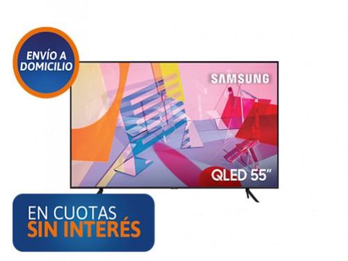 "Smart Tv QLED 55"" Samsung 55Q60T UHD 4K HDR"