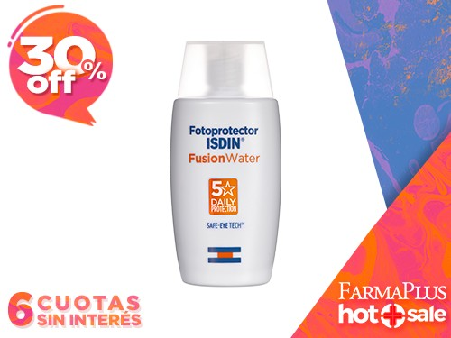 Isdin Fotoprotector Fusion Water FPS 50+ 50 ml
