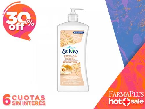 St Ives Crema Corporal de Avena y Karite para Piel Extra Seca 350 ml
