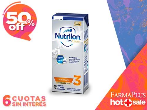 Nutrilon Profutura 3 Leche Infantil en Brick 200 ml x30un