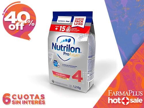 Nutrilon Profutura 4 Pouch Leche Infantil en Polvo 1,2 kg