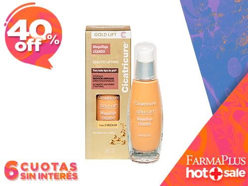 Cicatricure Gold Lift Maquillaje Facial Tono Medium 30 ml