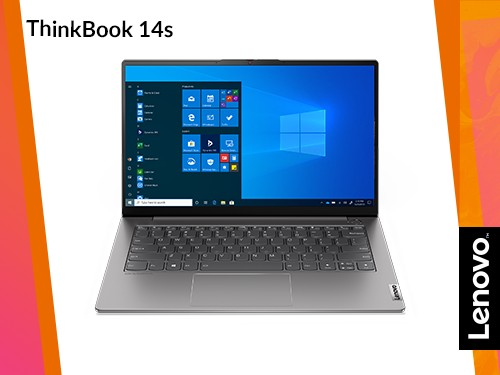 "Laptop Lenovo i5 8gb 256GB SSD ThinkBook 14s 14"" FHD Grey"