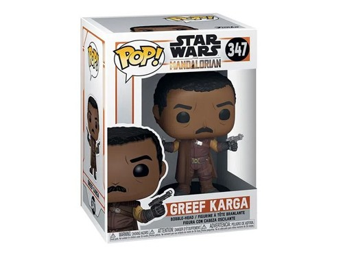 Figura Funko Pop Star Wars Mandalorian Greef Karga 347