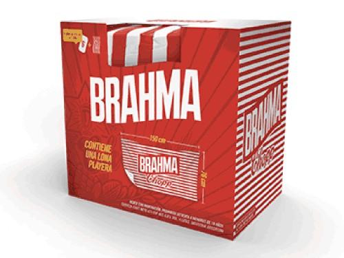 Gift Pack 6 Latas Brahma con Lona