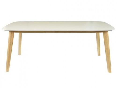 Mesa de comedor nordica madera 140 x 80 Eames Claire