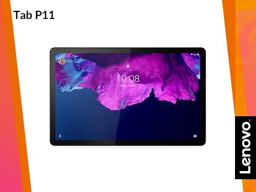 """Tablet Lenovo Tab P11 con Teclado y Lápiz 4gb 128GB Android 10 11"""" 2K"""