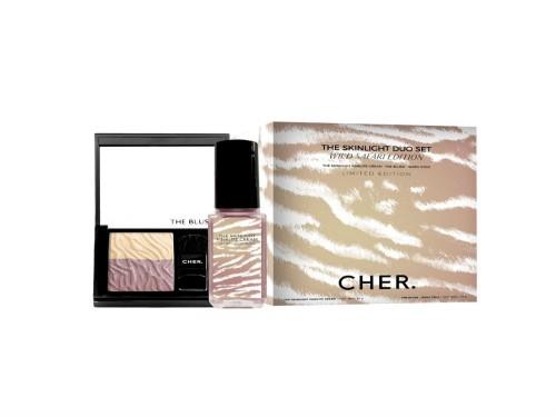 Kit Cher The Skinlight Golden Cream 40 g + The Blush Shiny Gold 4,5 g