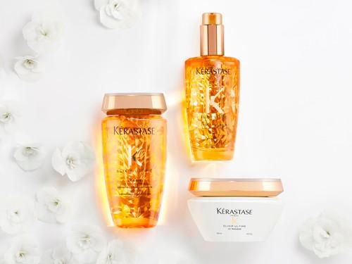 Kit Kérastase Elixir Ultime Cabello Brilloso: Shampoo y Acondicionador