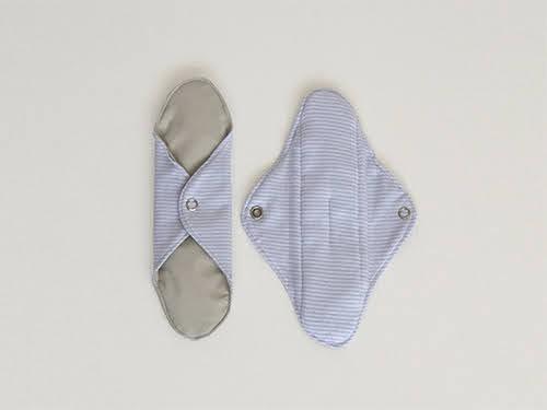 Toallita ecológica de tela normal. Opción protector día,tanga,nocturna