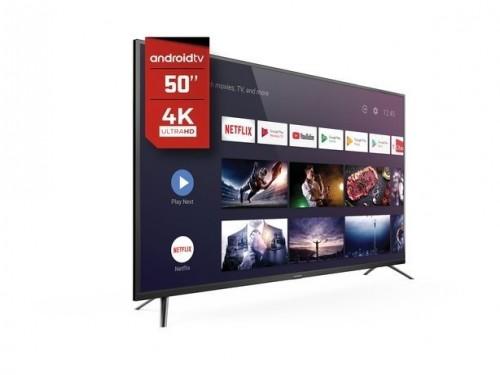 """Smart Led TV 4K 50"""" Hitachi cdh le504ksmart20"""