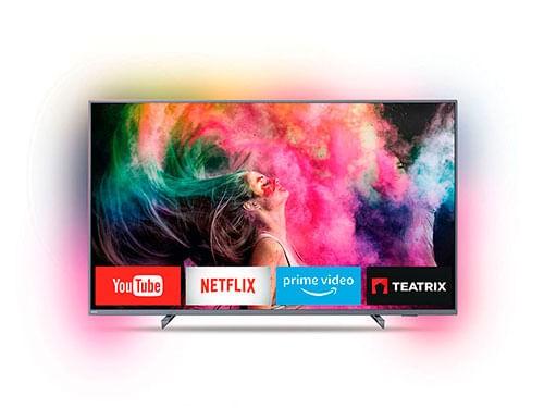 "Smart Tv Philips 65 Ambilight 4k 65"""