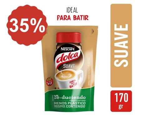 35% en Café Nescafé Dolca doypack 170 Gr.