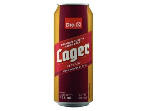 $59 Cerveza Lager en lata DIA 473 Ml.