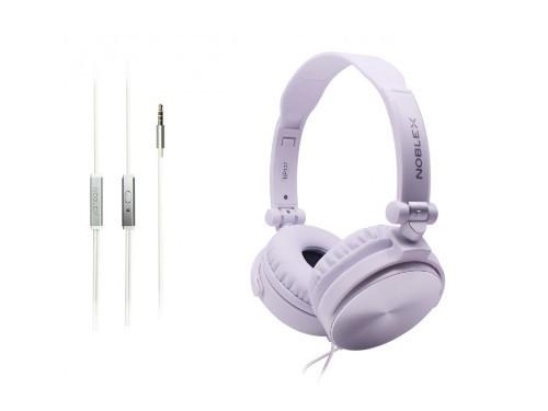 Auriculares con Micrófono Blanco Silver Noblex