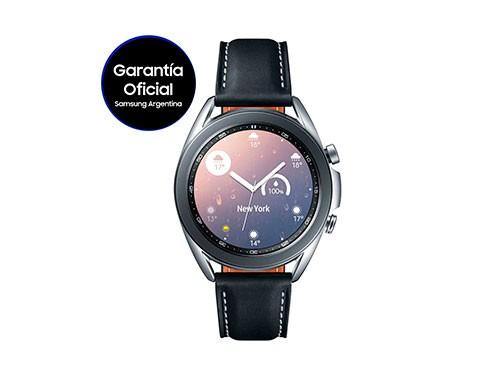 Smartwatch Galaxy Watch 3 41mm Samsung Color Plata