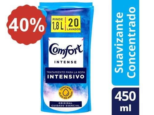 40% en Suavizantes Comfort 450 Ml.