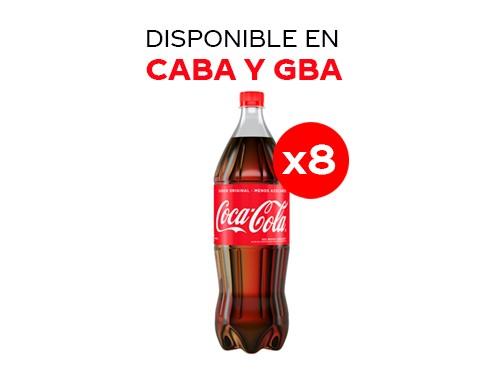 8 Coca-Cola Sabor Original 1.5 lt