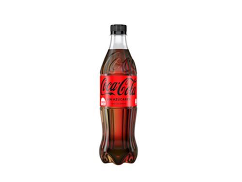 6 Coca-Cola Sin Azúcares 500 ml