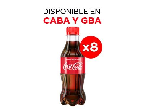8 Coca-Cola Sabor Original 237 ml