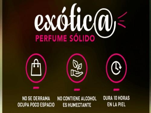 Perfume sólido MIES extra duración, sin alohol ni conservantes