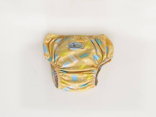 Pañal de aprendizaje ecológico c/2 absorbentes aptos para el agua