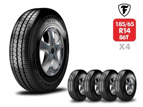 4 Neumáticos Bridgestone Ecopia EP150 185/65 R14 86T
