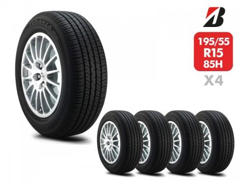 4 Neumáticos Bridgestone Turanza Er30 85H 195/55 R15