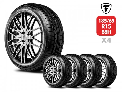 4 Neumáticos Firestone Firehawk 900 88H 185/65 R15