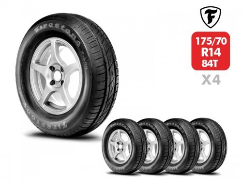 4 Neumáticos Firestone F600 84T 175/70 R14