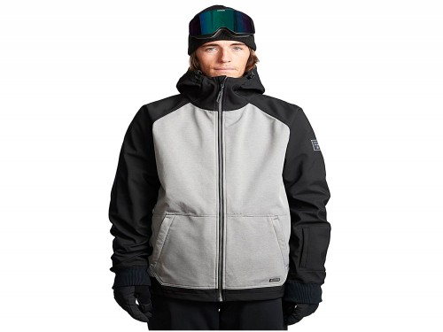 Campera Snow Downhill Softshell Jacket Gris Hombre