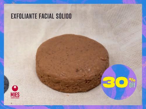 Máscara facial exfoliante sólido arcilla roja sin conservantes