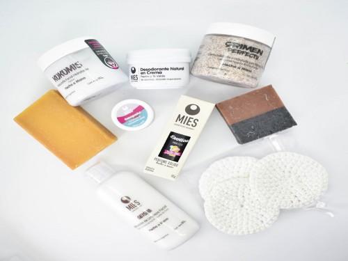 SPA MIES Boutique, 9 cosméticos en caja madera para regalo