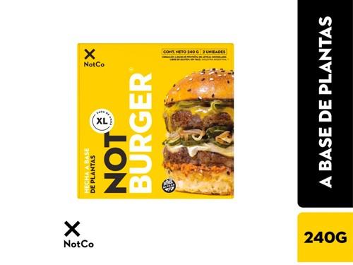 Not Burger Premium XL x 240 g SIN TACC THE NOT COMPANY