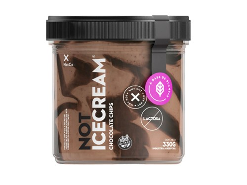 Not Ice Cream Chocolate & Chips x 330 g THE NOT COMPANY