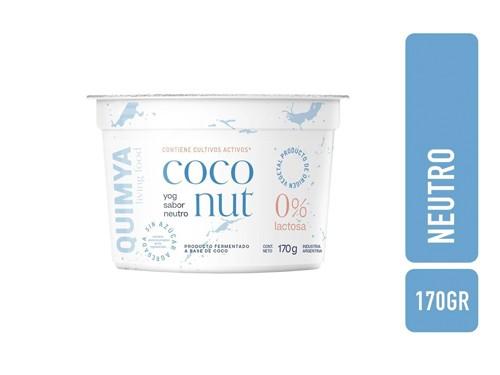 Yogurt a Base de Coco Griego x 200 g Quimya Yog