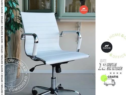Sillón Alumin Eames White Edition BAIRES4