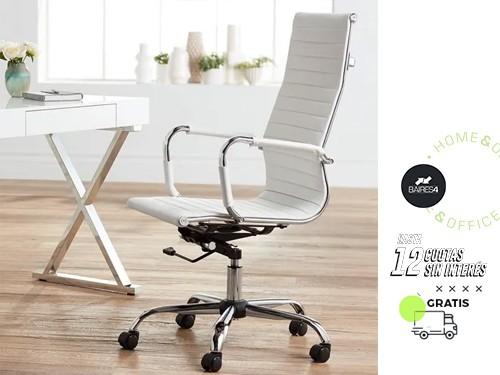 Sillón Alumin Eames Alto White Edition BAIRES4
