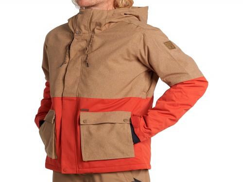 Campera Fifty 50 Snowboard Jacket Marron Hombre