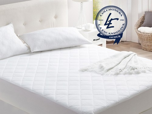 Colchón y Sommier  King + Respaldo + colcha + almohadas PREMIUM