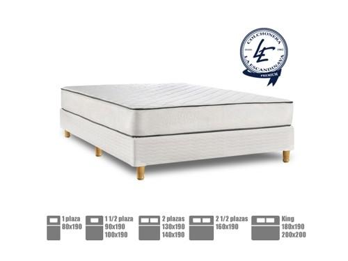 Colchón y Sommier de resortes PREMIUM Mare Pillow Top