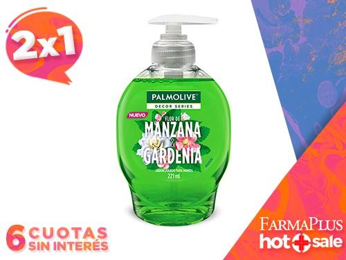 Palmolive Jabón Líquido Manzana & Gardenia 221 ml