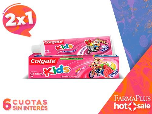 Colgate Pasta Dental Kids Tutti Frutti 50 gr  2x1
