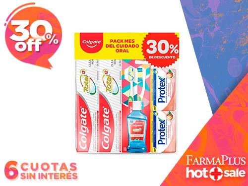 Colgate Kit Pasta dental + Cepillo Dental + Enjuague bucal + Jabón