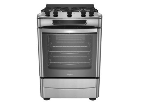 Cocina WHIRLPOOL 60cm Multigas Acero Inoxidable WF360XG