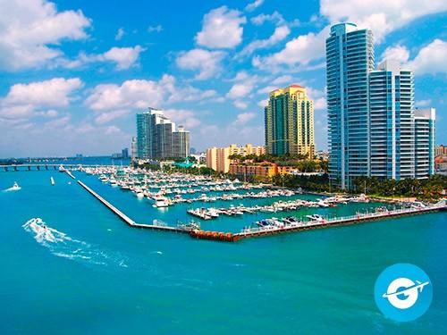 Vuelo a Miami en oferta. Pasaje Aéreo barato a Miami, Estados Unidos.