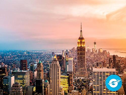 Vuelo a Nueva York en oferta. Pasaje Aéreo barato a NYC. EEUU