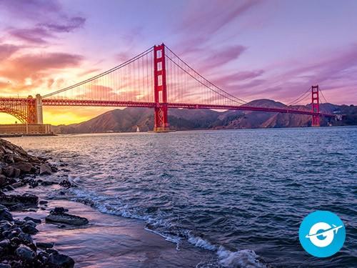 Vuelo a San Francisco en oferta. Pasaje Aéreo barato a Estados Unidos.