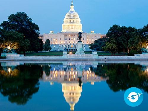 Vuelo a Washington en oferta. Pasaje Aéreo barato a Estados Unidos.