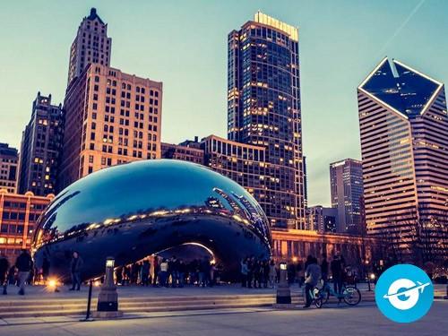 Vuelo a Chicago en oferta. Pasaje Aéreo barato a Estados Unidos. EEUU